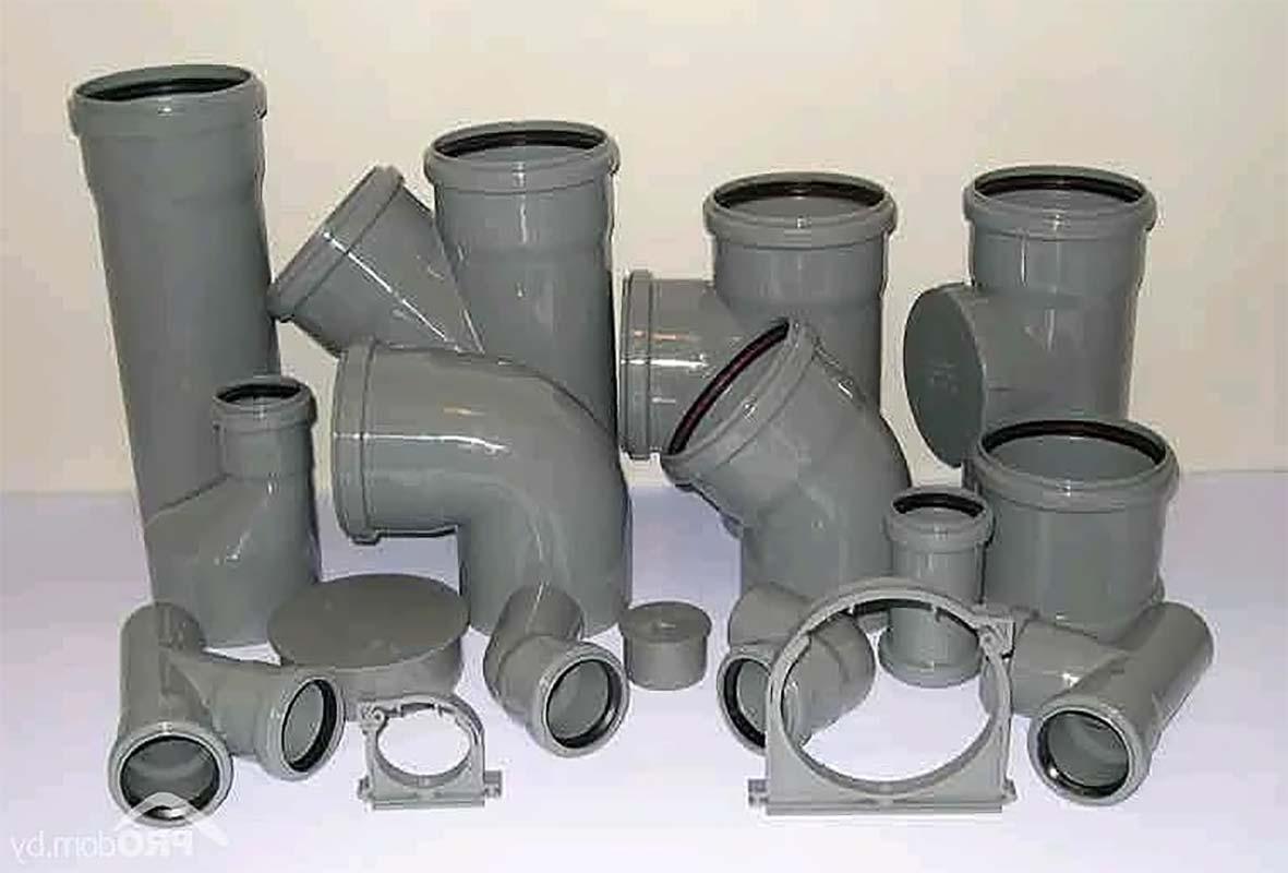 Фитинги для внутренней канализации здания