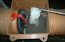 Как поставить обратный клапан для канализации и для чего он нужен