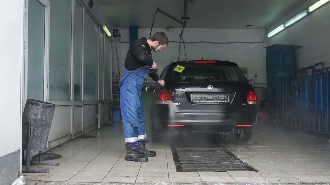 Мойка машин, очистка автомоек