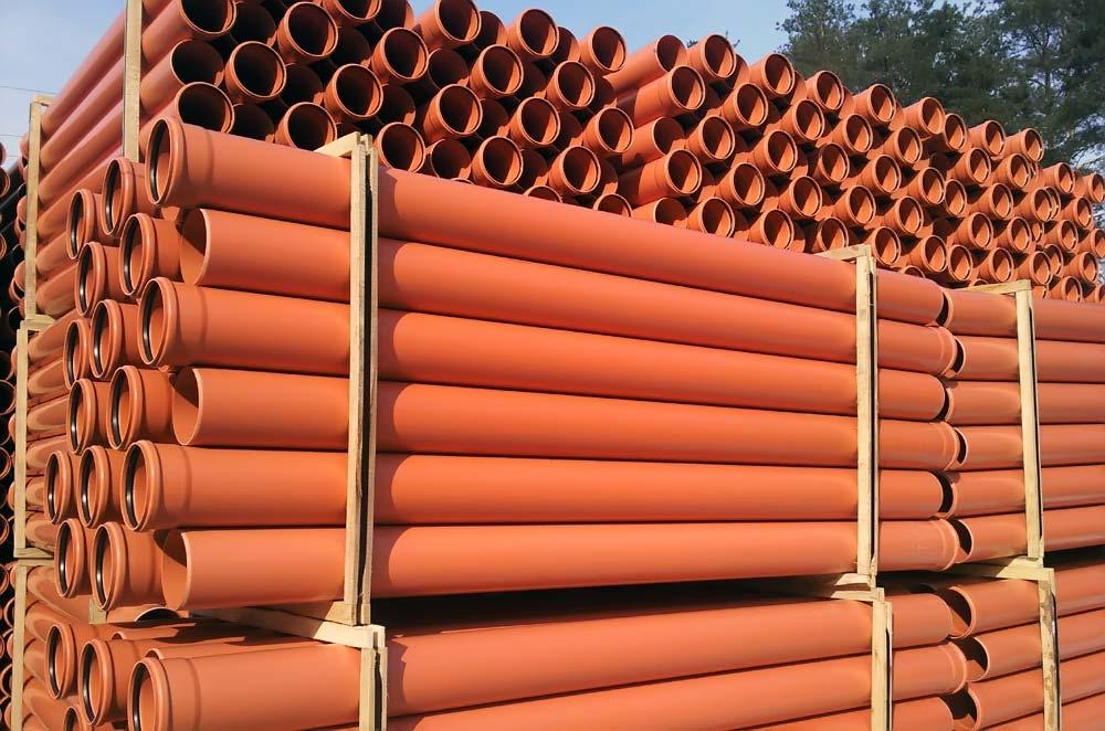 Полимерные трубы для наружной канализации