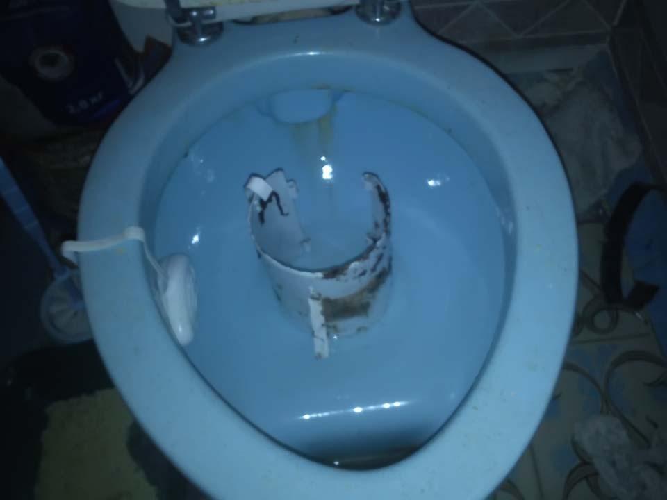 Принцип действия блокировки канализации