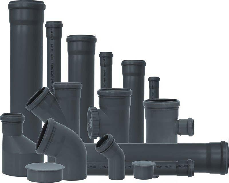 Трубы для внутренней канализации материал