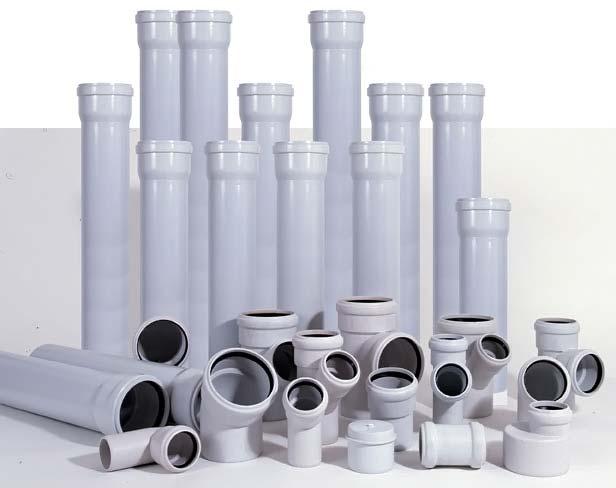 Трубы для внутренней канализации ПВХ поливинилхлорид