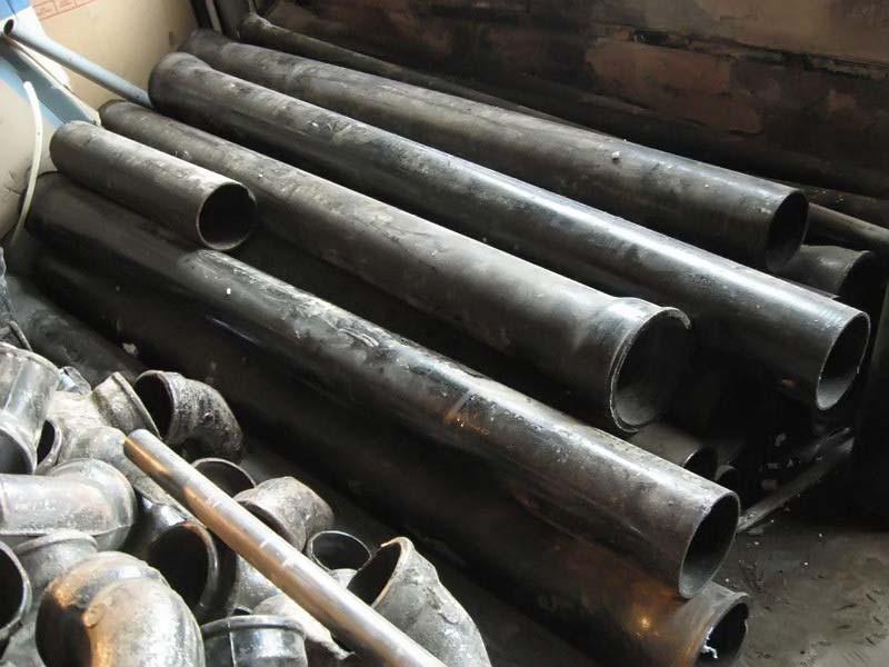 Трубы наружной канализации чугунные