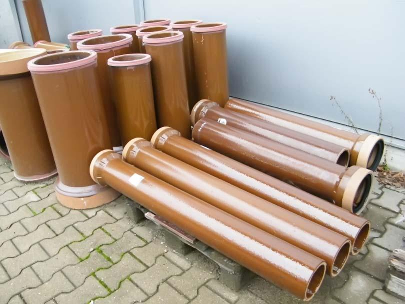Трубы наружной канализации керамические
