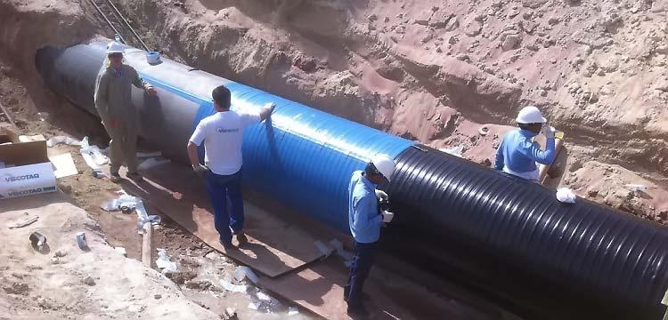 Трубы наружной канализации полимерные