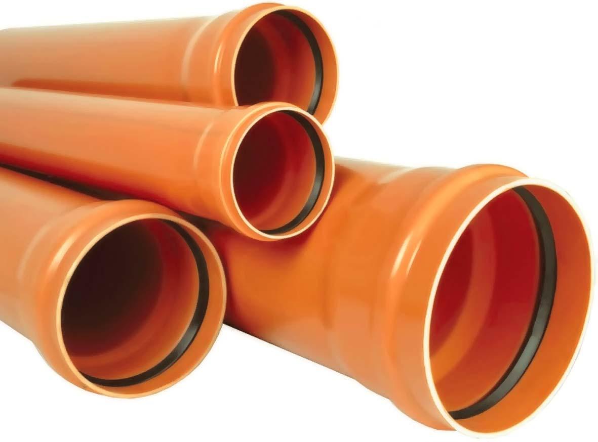 Трубы наружной канализации ПВХ