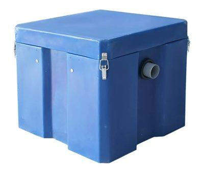 Установить жироуловитель под мойку для канализации ресторанов