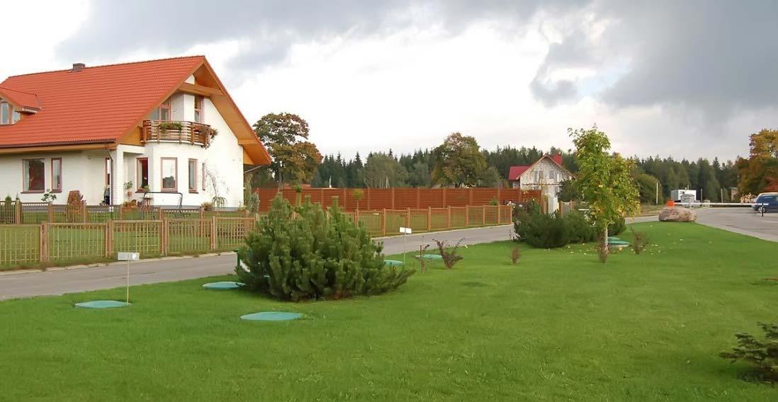 Частный дом с автономной канализации