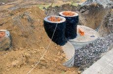 Как построить септик из бетонных колец своими руками