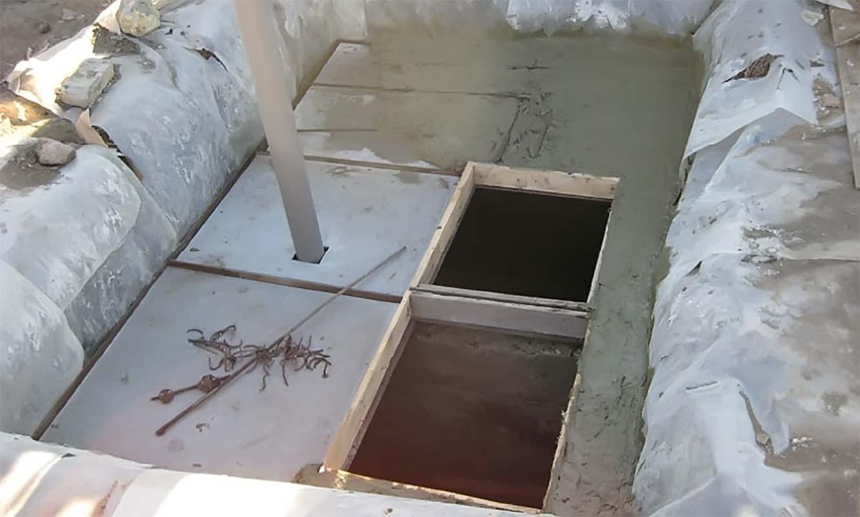 Строительство септика высокого уровня грунтовых вод своими руками