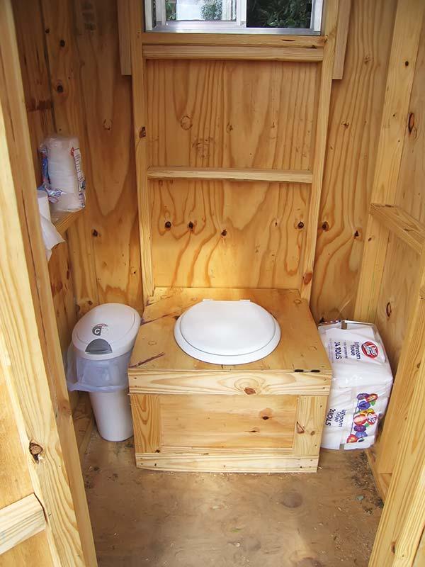 Разновидность торфяного туалета