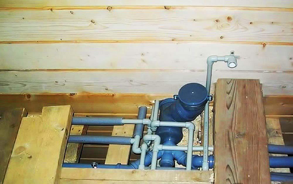Водоснабжение деревянного дома