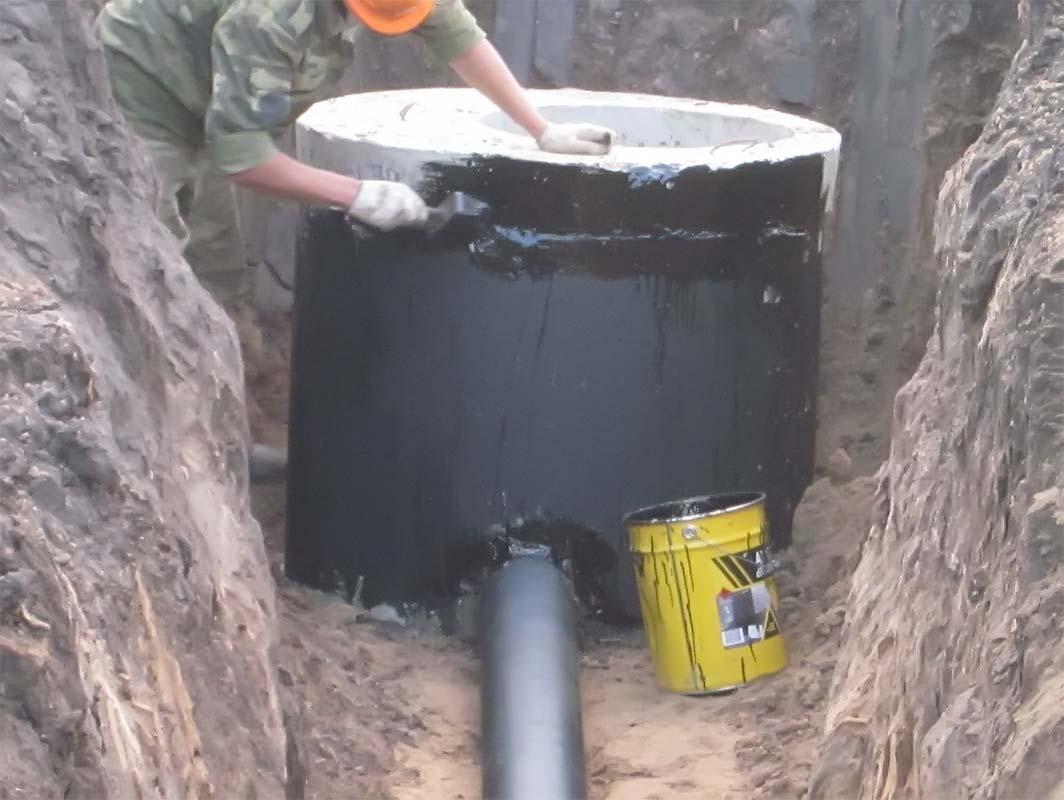 Автономная канализация своими руками строительство