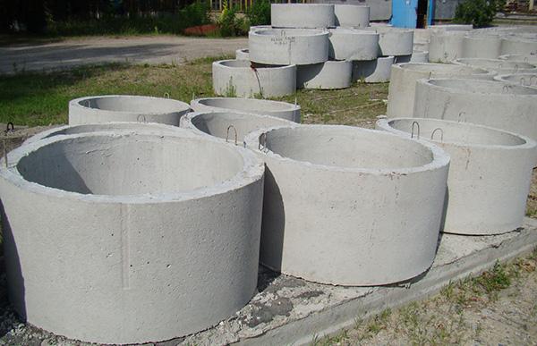 бетонные кольца под септик