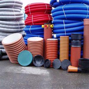 Современные пластиковые дренажные колодцы