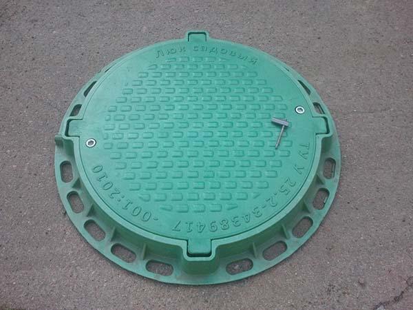 люк канализационный полимерный