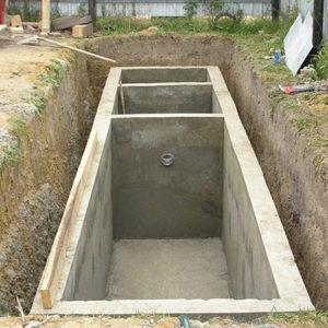 Условия правильного изготовления и монтажа бетонного септика