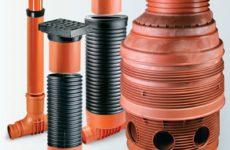 Плюсы пластиковых канализационных колодцев