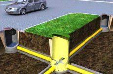 Внутреннее устройство канализационного колодца