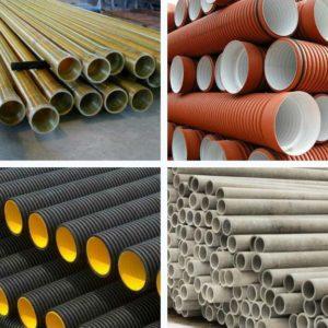 Трубы для ливневой канализации и как правильно их уложить