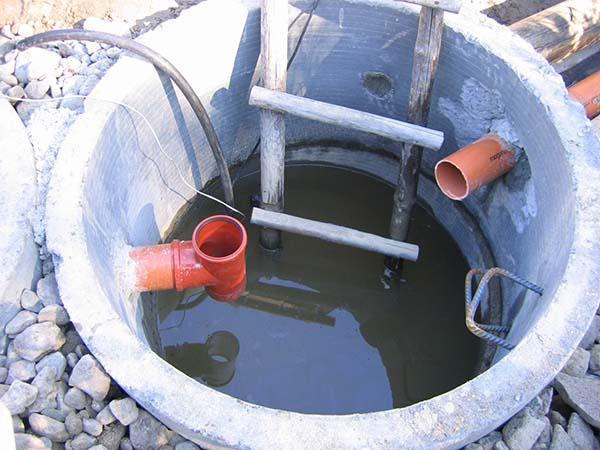 железобетонный колодец для канализации